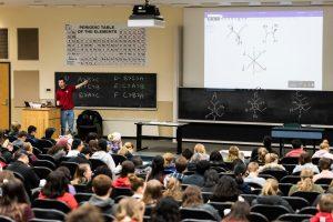 UW-Madison chemistry classroom